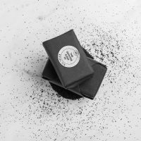 Genuine Soap company Royal fig soap branded using an Avery WePrint custom label