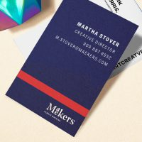 Maekers Business cards 1 of 3 ways to expand your brand using Avery WePrint printing services