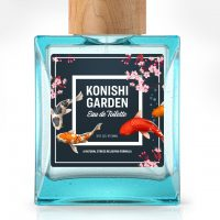 Konishi Garden perfume using Avery WePrint custom labels