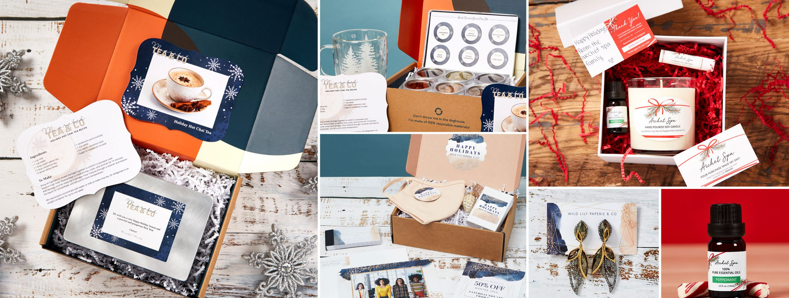 Turn your products into holiday gifts and Christmas gifts for clients and customers