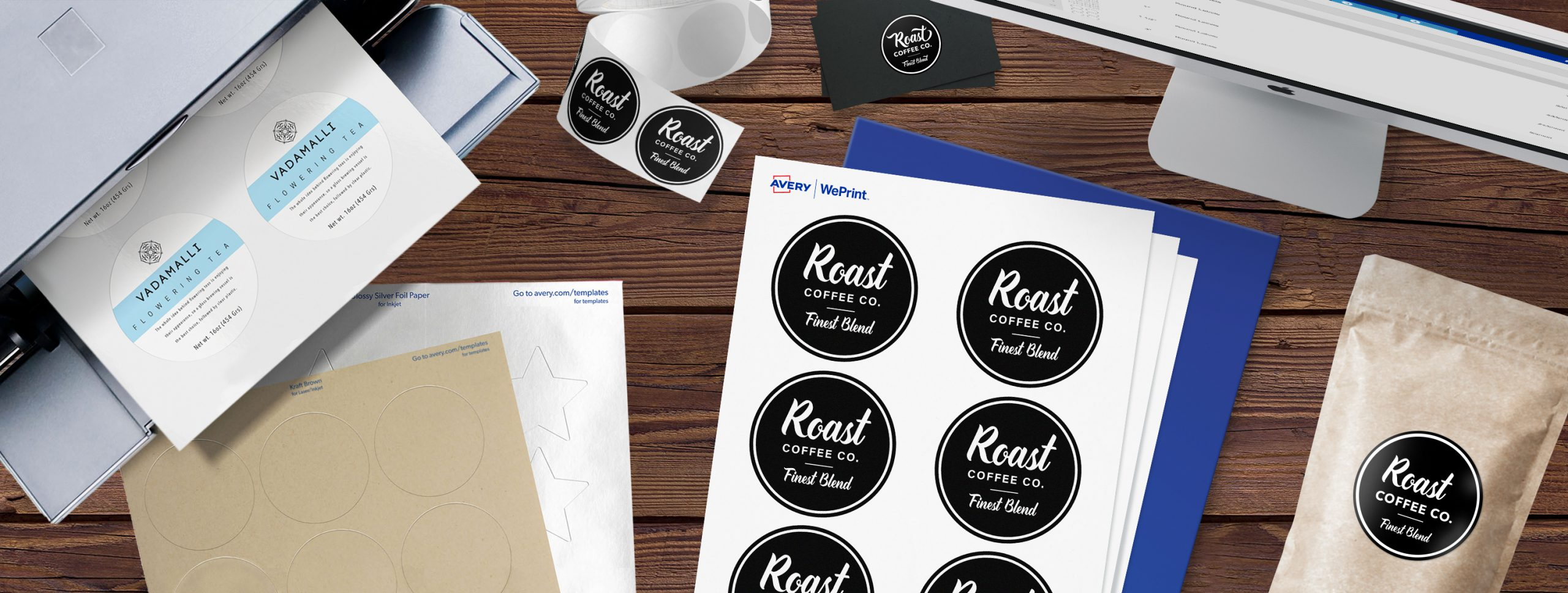 Should you print your own labels or use a professional printing service
