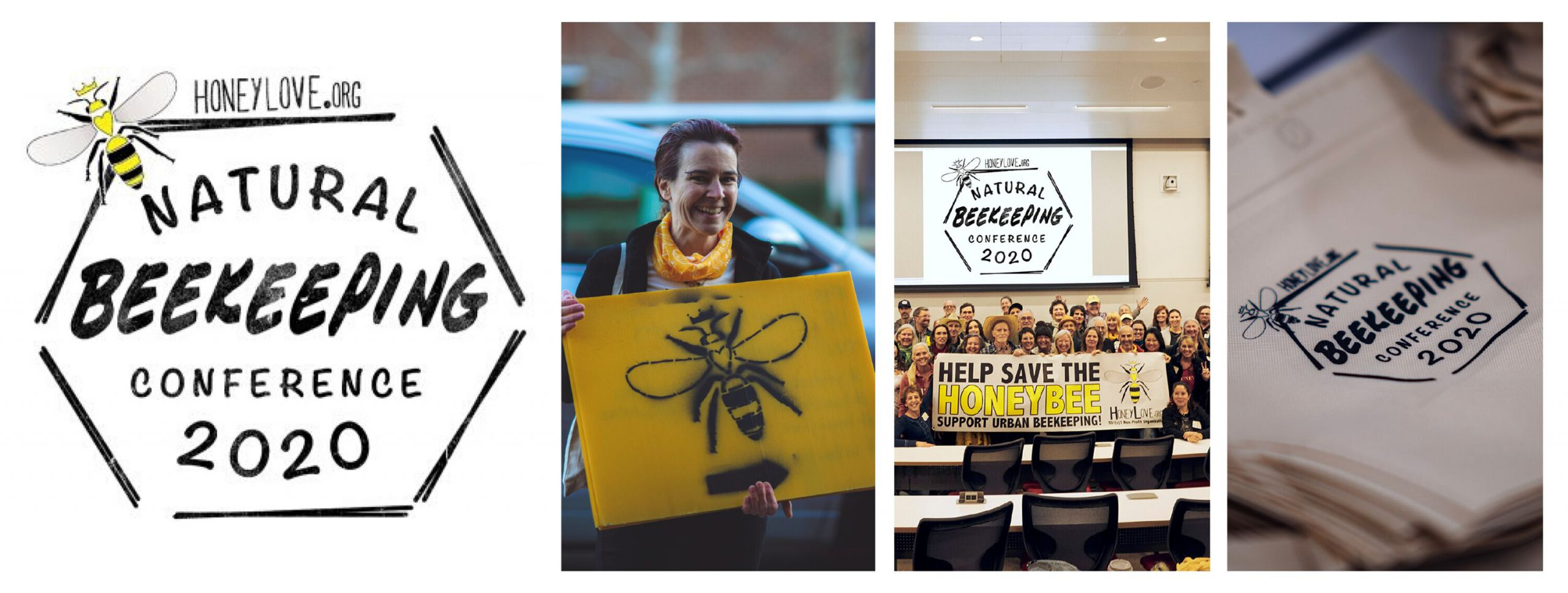 HoneyLove.org hosted a Natural Beekeeping conference to help protect the honeybee