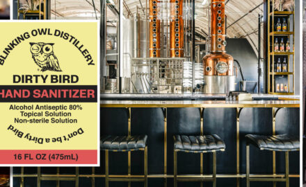 Blinking Owl Distillery Steps Up During Pandemic