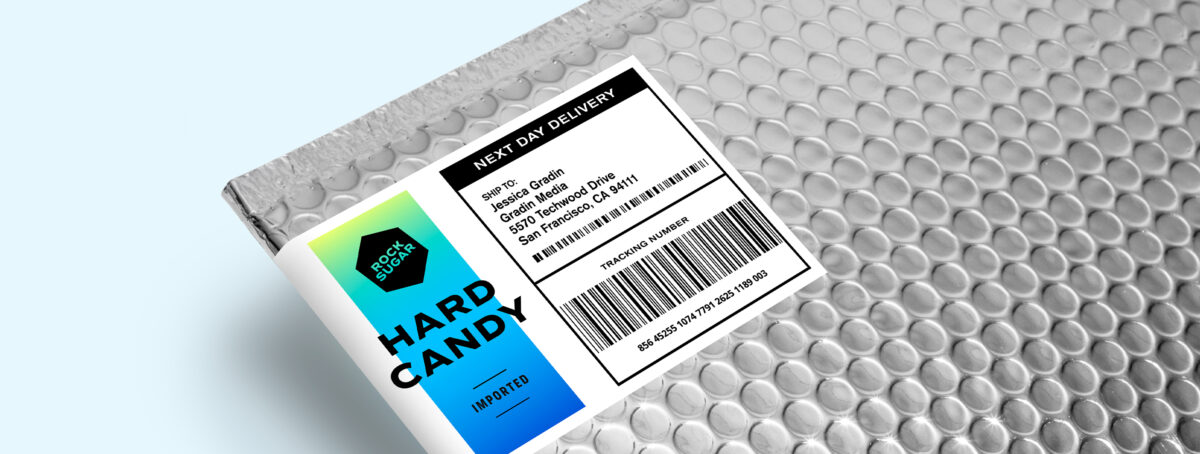 Make your own barcode labels