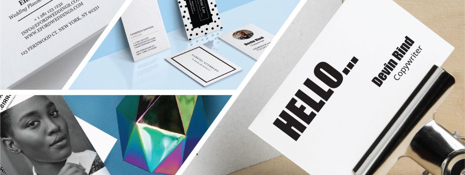 Refresh Your Business Cards with the Hottest Trends