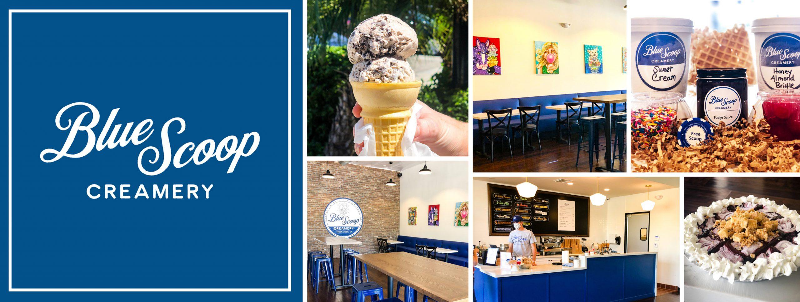 Blue Scoop Creamery Ice Cream Store was able to open despite the Coronavirus pandemic. read how