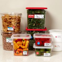 Use first stickers and use by date stickers for keeping food safe