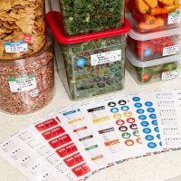Day dots and use by date stickers for keeping food safe