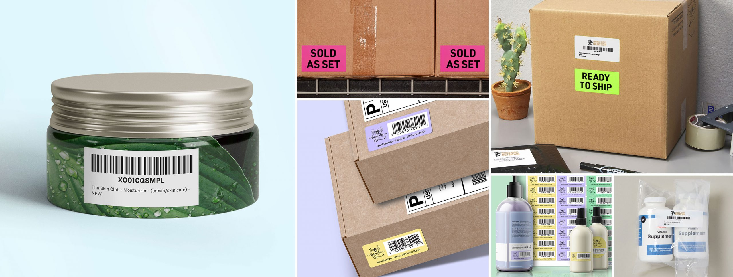 Make sure to apply the right labels for Amazon FBA shipments
