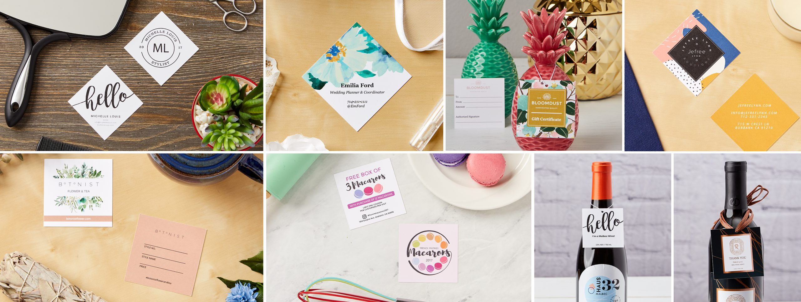Creative ways to use square business cards for your business