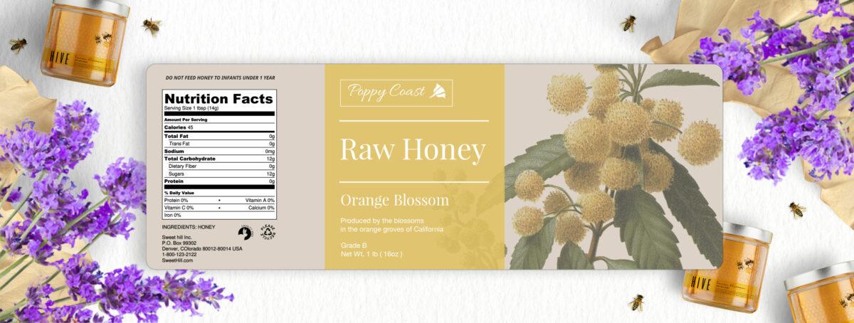 Honey label requirements