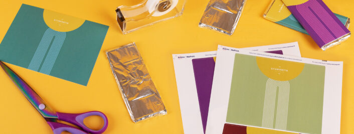 How to Make Custom Candy Bar Wrappers